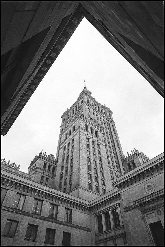 Warschau, Stalinstachel Kulturpalast